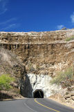 Diamond Head tunnel Hawaii. Tunnel leading to Diamond Head in Hawaii Royalty Free Stock Photos