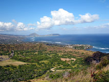 Diamond Head view Stock Image