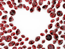 Diamond heart Royalty Free Stock Photography