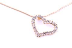 Diamond heart Royalty Free Stock Photography