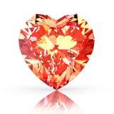 Diamond heart Royalty Free Stock Photo