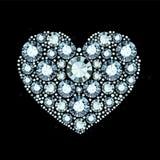 Diamond Heart Photos libres de droits