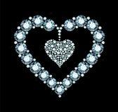 Diamond Heart Image stock