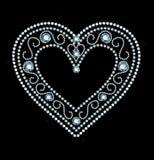 Diamond Heart illustration stock