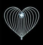 Diamond Heart illustration libre de droits