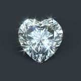 Diamond heart stock illustration