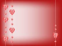 Diamond heart Royalty Free Stock Image