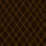Diamond honey yellow, brown, golden grid seamless  background Royalty Free Stock Photography