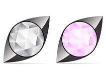 Diamond icon Royalty Free Stock Image