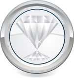 Diamond icon Stock Photos