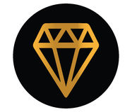 Diamond Icon Design Photos stock