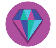 Diamond Icon Design illustration de vecteur