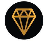 Diamond Icon Design Stock Photos