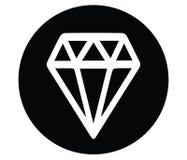 Diamond Icon Design Royalty Free Stock Images