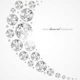 Diamond illustration Royalty Free Stock Photography