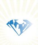 Diamond illustration Royalty Free Stock Image