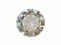 Diamond isolated on white background Stock Images