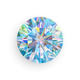 Diamond isolated on white background. Vector Stock Images