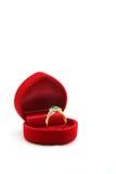 Diamond Jade Ring Royalty Free Stock Images