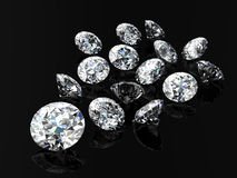 Diamond jewel Stock Image