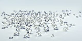 Diamond jewel isolated Stock Photo