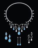 Diamond jewellery Stock Photo
