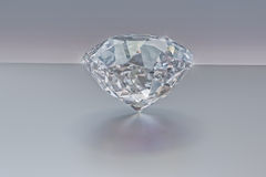 Diamond, Jewelry, Gem,brilliant 3D, Royalty Free Stock Photography