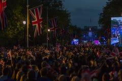 Diamond Jubilee Concert fotografia stock