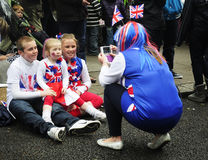 Diamond jubilee: Family Stock Photography