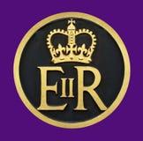 Diamond Jubilee Medallion royal Photo stock