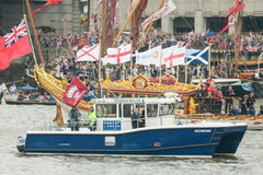 Diamond Jubilee Pageant Royalty Free Stock Photo