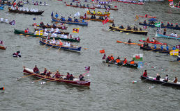 The Diamond Jubilee Pageant Royalty Free Stock Image