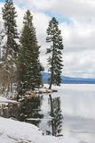 Diamond Lake stock photo