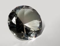 Diamond in light back Stock Photography