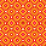 Diamond line star point seamless pattern Stock Photos