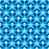 Diamond line star stick seamless pattern Stock Images