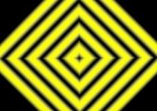 Diamond Lines Hypnotizing Background Stripes noir jaune illustration de vecteur