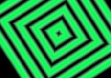Diamond Lines Hypnotizing Background Stripes noir vert illustration libre de droits