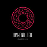 Diamond Logo illustration stock