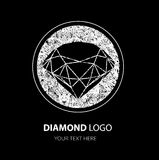 Diamond Logo illustrazione vettoriale