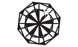 Diamond Logo Design Template illustration de vecteur
