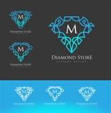 Diamond Logo Luxury illustration libre de droits