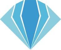 Diamond Logo Luxury för din affär Arkivfoto
