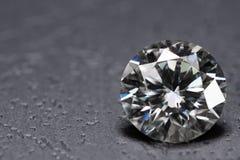 Diamond. Luxury big carat diamond background royalty free stock photography