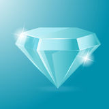 Diamond Luxury Glow Object Accessories Vector Stock Photo