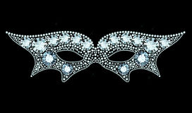 Diamond Mask Immagine Stock