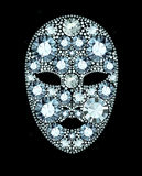 Diamond Mask Stock Images