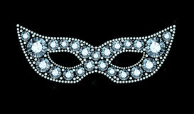 Diamond Mask Stock Images