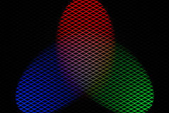 Diamond Mesh 02 Royalty Free Stock Photography