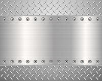 Diamond metal background Stock Photo